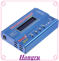 Wholesale Rc Helicopter Battery Chargers - IMAX B6 Digital RC Lipo NiMh Battery Balance Charger free shipping