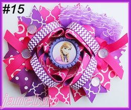 Wholesale Over Top Hair Bows - free shipping 300pcs 6'' large Over the Top Loopy Boutique Bow girl big bows cartoon hair bows