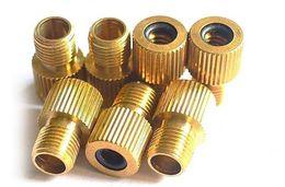 Wholesale Air Pump Nozzles - Copper Presta To Schrader Air Pump Bicycle Bike Valve Type Adaptor Gas Nozzle Converter Adapter Bicicleta Tools Tire Accessories