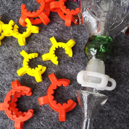 Wholesale wholesale clips - Cheapest ! 10mm 14mm 19mm joint size Plastic K Clip Color Plastic Keck Laboratory Lab Clamp Clip