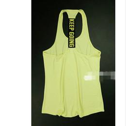 Yoga camis онлайн-Мода Спорт Бег Тренажерный Зал Майки Regata Feminina Женщины Фитнес Blusa Рубашка без рукавов три цвета спинки хлопок Camis йога топы