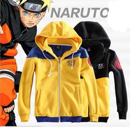 Wholesale Naruto Uchiha Itachi Coat Cosplay - Wholesale-Naruto Uzumaki Naruto Cosplay Costume 15 Years Akatsuki Uchiha Itachi Sharingan cosplay hoodie jacket coat
