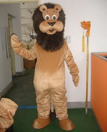 Wholesale Used Mascot Costumes - High quality Can be washed with water EVA Material helmet used multiple times Male Lion Mascot Costumes cartoon Apparel 0376
