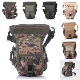 Wholesale Thigh Belt Bag - 7 Color Leg Bag Motorcycle Outdoor Bike Cycling Thigh Pack Waist Belt Tactical Bag Outdoor Bike Multi-Purpose Bag E601L