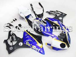 Wholesale Motorbike Bmw - Complete Fairings For BMW S1000RR 11 12 13 14 2012 2013 2014 ABS Motorcycle Fairing Kit Bodywork Motorbike Cowlings Goldbet Blue