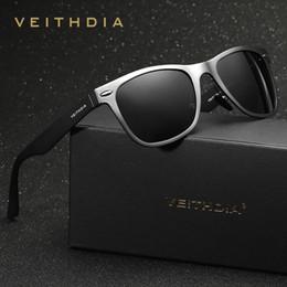 48fa8ba7f45 outdoor female sunglasses Canada - VEITHDIA Aluminum Men  039 s Polarized  Mirror Sun Glasses