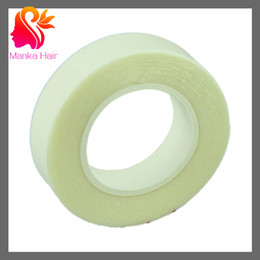 Wholesale Skin Weft Adhesive - Wholesale-5pcs HIGH QUALITY 1cm*3m Double-Sided Adhesive Tape for Skin Weft Hair Extensions- Hair Extensions Tools super adhensive tape