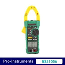 Wholesale Multifunction Digital Meter - Wholesale-MASTECH True RMS Digital Clamp on Meter MS2016A Multifunction Auto Range Multimeter