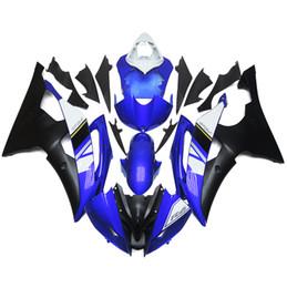 Carenados de inyección completos para Yamaha R6 08 09 10 11 12 13 14 15 Plásticos ABS Carenado de motocicletas Kits Carrocería Carelling Blue Balck desde fabricantes