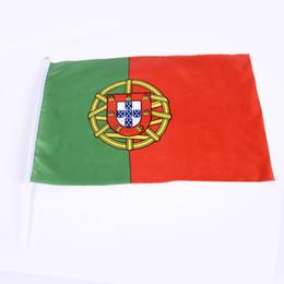 2019 parches de engranajes tácticos Los fabricantes suministran bandera mundial PE mano agitando la bandera de la bandera en bandera lugar props banner OEM