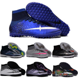 Wholesale Quality Street Rubber - Drop Shipping Wholesale Football Shoes Men Mercurial X Proximo Street Indoor TF Soccer Shoes 2016 New High Quality Sport Shoes Size 6.5-11