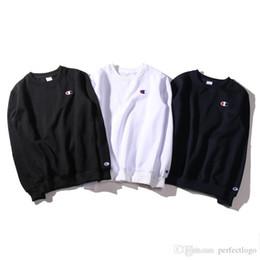 Wholesale Printed Hoodie Letters - 2017 New Men women Hoodies embroidery Pullover Hip Hop Simple Small printing logo thin sweater Hoodie American popular hoodie