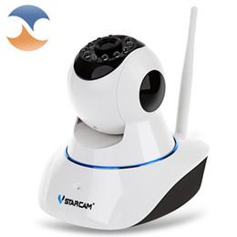 Wholesale Baby Touch Monitor Screen - Wholesale- VStarcam C25 HD Wireless IP Camera IR-Cut Night Vision Audio Network CCTV Indoor IP Pan&Tilt camera baby monitor