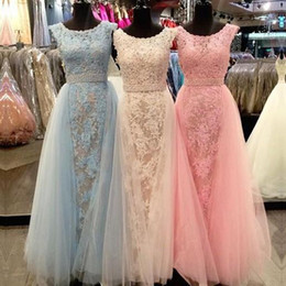 Wholesale Cheap Occasion Wear - Modest Full Lace Sheath Formal Prom Occasion Dresses Real Image Jewel Neck Cap Sleeves 2016 Custom Made Plus Size Evening Event Wears Cheap