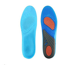 Wholesale Protection Shock - GEL Sports Insoles -Foot Pain and Fasciitis Relieve, Full Length Comfort Inserts for Heel Protection, Shock Absorption