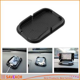 Tablero del tablero del coche negro Estera adhesiva antideslizante Gadget antideslizante Teléfono móvil Soporte para GPS Soporte interior Artículos Accesorios Accesorios desde fabricantes
