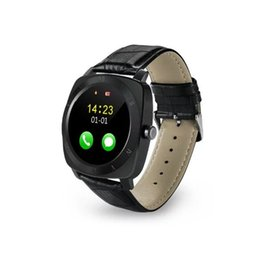 Wholesale Classic Phone Mp3 - 2016 New Classic Smart Watch X3 Smartwatch For Iphone Android Monitor Mp3 Mp4 Sim Card Smart Watch Phone reloj inteligente Smart Watches