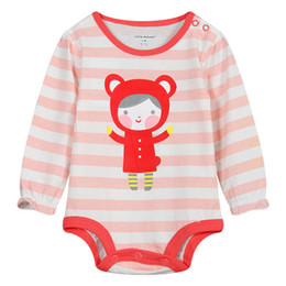 Wholesale Tight Pajamas Girl - Princess Baby Girls Clothes Bodysuits Newborn Clothing Sleeve Bebe Roupas Little Maven Jumpsuit Baby Pajamas overall Tights