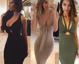 Wholesale Sexy Black Burst - 2016 HOT selling Variety sleeveless sexy bandage dress burst models Women