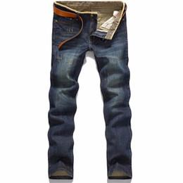 Calças on-line-Marca Famosa Calças Jeans Designer Jeans Men Calças Jeans de Alta Qualidade dos homens (sem cinto)