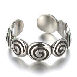 Antiquités thaïlandaises en Ligne-Argent 925 anneaux en Corée du Sud mode simple argent S restaurer des moyens antiques est Thai anneau de personnalité ouverte en argent