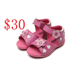 Wholesale Baby Leather Shoes Kids - Fashion Kids sandals Baby Summer First Walk Shoes Kid Shoes good quality kids casual Sandals Shoes