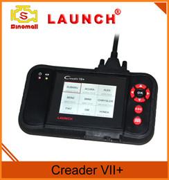 Wholesale Launch Engine Scanner - High quality Original Launch Creader VII+ VII Plus creader 7+ Auto Code Reader Same as CRP123 scanner Update online
