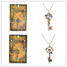 5304693ef5178 Discount Wholesale Skeleton Key Necklace, 2017 Usb Key Necklace on ...