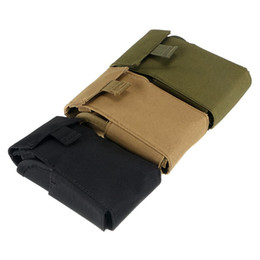 Wholesale Airsoft Molle - Magazine Pouch Airsoft Hunting Shooting 25 Round Shotgun Shotshell Reload Holder Molle Pouch For 12 Gauge 20G