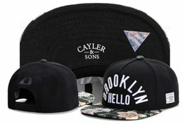 0c7cc58aade 2018 cayler sons brooklyn snapback Marke Cayler Sons Caps Hut