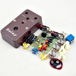 Effetti pedale diy online-Kit pedali delay fai-da-te @ Crea pedali effetti e kit personalizzati @Free ship