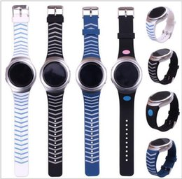 Wholesale Silicon Man Watches - Watchband Luxury TPU Silicone Watch Band Strap For Samsung Galaxy Gear S2 SM-R720 Men Watch Bracelet VS Apple Watch Silicon Strap