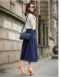 Wholesale Korean Women Fashion Suits - 2016 summer new Women Korean fashion loose cotton blouse+dress two-piece skirt suits