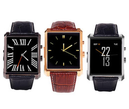 Wholesale Golden Fashion Watches For Men - DM08 Bluetooth Smart Watch Fashion Wrist Smartwatch Men Wristwatch Wearable Digital Device for IOS android smart Phone