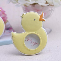 Wholesale Duck Favors - Baby Souvenirs of My Little Duckling Baby Duck Photo Frame For Kids Birthday Party Decoration Gift And Favors ZA5009