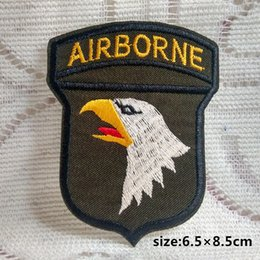 Wholesale Military Clothing Accessories - US Army WW2 101ST Airborne Division SHOULDER badge BADGE INSIGNIA PATCH armband Military Army collect Clothing accessories