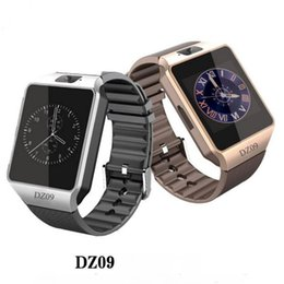 Wholesale internet remote - DZ09 wearable smart watch Internet touch screen bluetooth multi-function outdoor exercise pedometer sleep check high quality gift powerful w