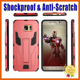 Wholesale case for iphon - Defender Mars 2- Proof Shockproof Anti-scratch Hard Phone Case Cover For Galaxy S7 S6 Edge Note5 iPhon 7 6 6s plus