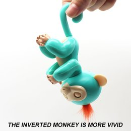 Wholesale Music Monkeys - Singing music Monkey Fingerl Smart Fingers Monkey Kids Toy Gifts Cute Monkey Single Toy MIX Colors
