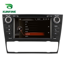 Wholesale Bmw Touch Screen Car Radio - Quad Core 1024*600 Android 5.1.1 Car DVD GPS Navigation Player Car Stereo for BMW E92 2005-2012 AT Radio 3G Wifi Bluetooth