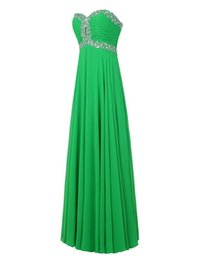 Wholesale Cheap Strapless Dresses For Women - 2016 Hot Sale Cheap A-line Sweetheart Chiffon Vestido De Festa Backless Long Evening Dress for Women Special Occasions