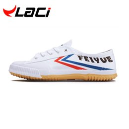 Wholesale Tai Chi Kungfu Shoes - laci brand 2016 the new Shoes Kungfu shoes Shaolin shoes Tai Chi shoes China popular and comfortable men women
