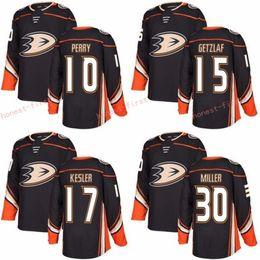 Wholesale Ryan Kesler - 2018 New Anaheim Ducks 10 Corey Perry Jersey 15 Ryan Getzlaf 17 Ryan Kesler Ice Hockey Jerseys All Stitched Black 30 Ryan Miller