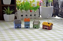 2019 fate in miniatura per i giardini Casa degli uccelli in miniatura casa degli uccelli giardino delle fate giardino in miniatura ornamento accessorio accessorio tetto in pendenza casa degli uccelli Accessori da giardino fate in miniatura per i giardini economici