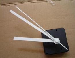 Wholesale Clock Movement Mechanisms Kits Wholesale - Good quality 3 colors needles long axis quiet DIY quartz clock movement set kit spindle mechanism full set with shaft 20mm