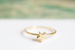 Wholesale Wholesale 18k Pure Gold - Fashion d pentagram pentagram ring ring pure manual welding for women in selling wholesale and mixed color