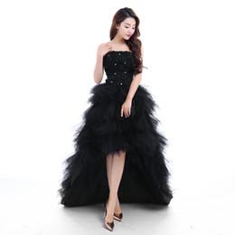 Wholesale Favorite Design - Favorite 2017 red bride evening party dress bride princess royal prom dresses short train formal dress design quality By Evening growns