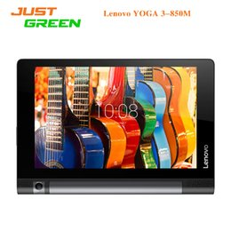 "Wholesale Lenovo China Wholesale - Original Lenovo YOGA 3-850M 4G LTE Tablet PC 8"" 1280*800 Android 5.1 Phablet MSM8909 Quad Core 1GB 2GB RAM 16GB ROM 8MP Camera"
