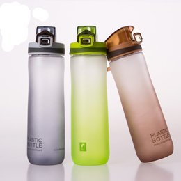 Wholesale Heat Resistant Aluminum - Wholesale Color Plastic Cup Creative Sealed Heat-Resistant Environmental Protection Gift Cup Large-Capacity Sports Cup Water Bottles