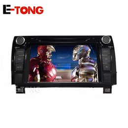 """Wholesale Car Navigation 2din - 7"""" Android 2din 4.4 Car DVD Player GPS Navigation For Toyota Sequoia with autoradio Raido OBD CD Touch Screen 3D map FM"""